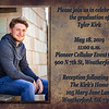 Tyler Kirk~Grad Announcement Side 1