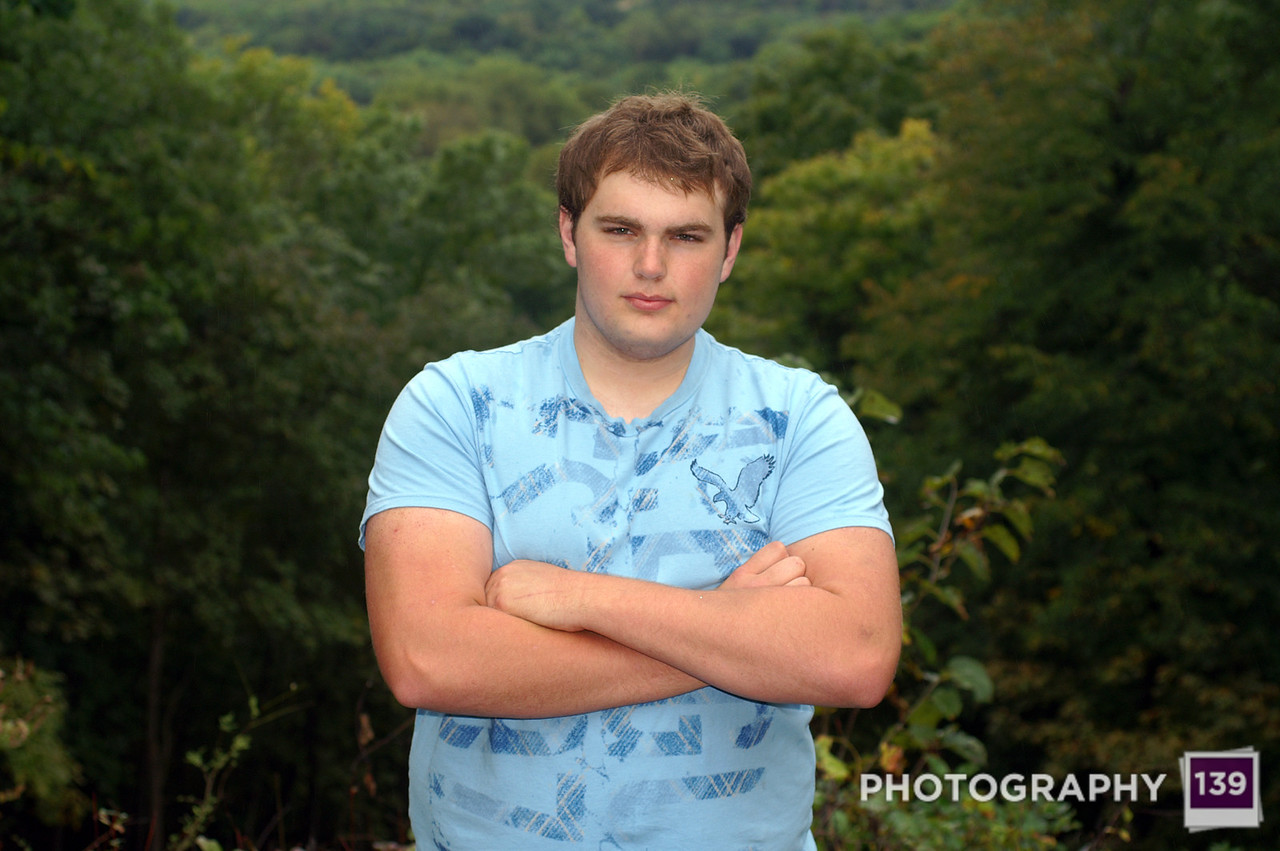 Brandon Kahler Senior Pictures