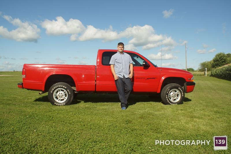 Hunter's Senior Pictures