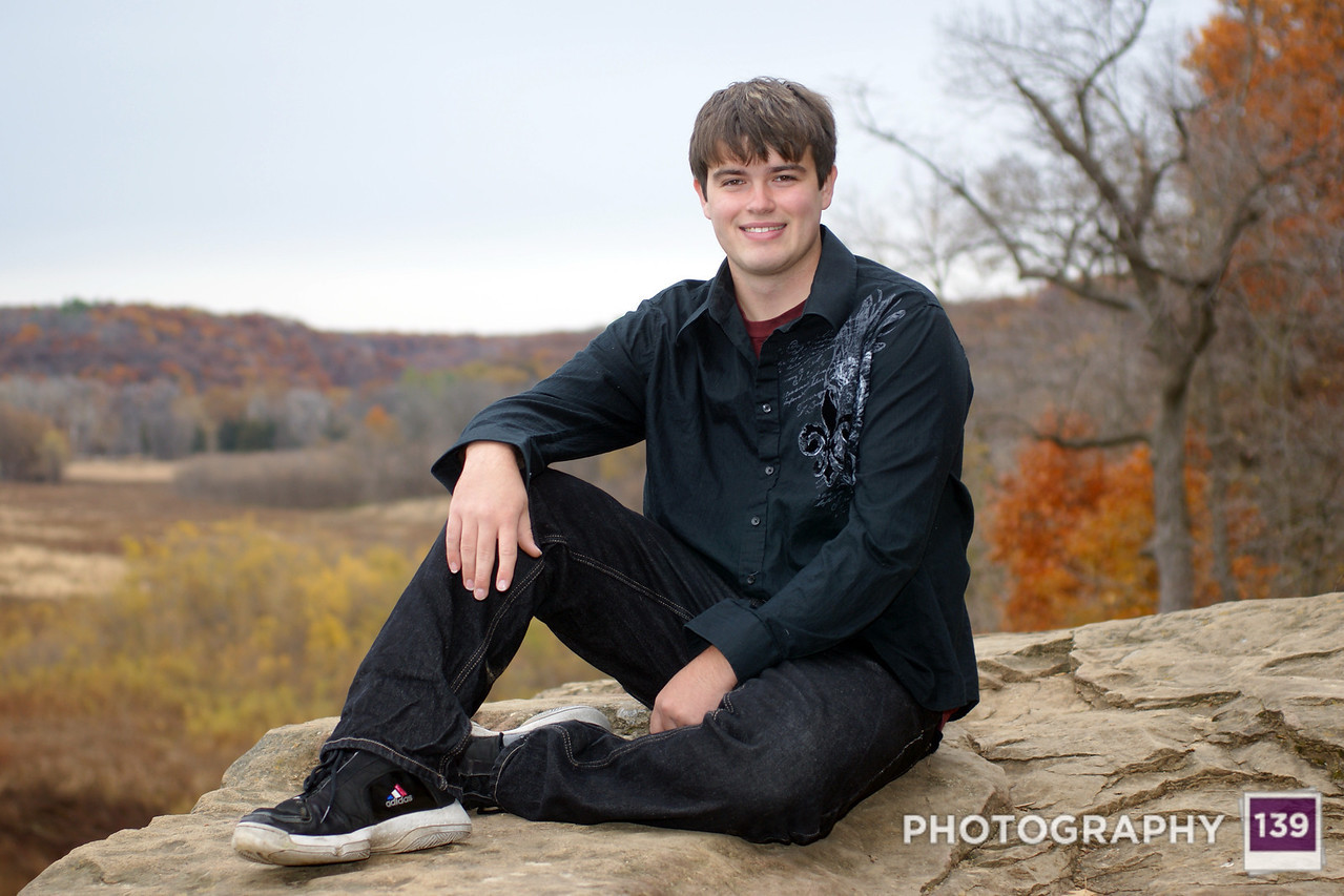 Johnathan Stensland Senior Pictures