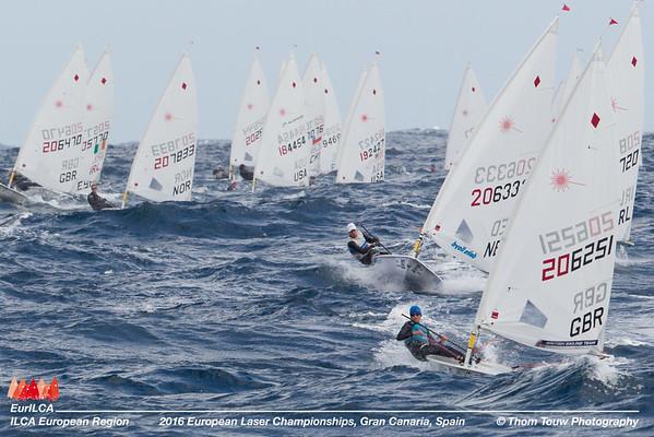 European Laser Senior Championships 2016 Gran canaria