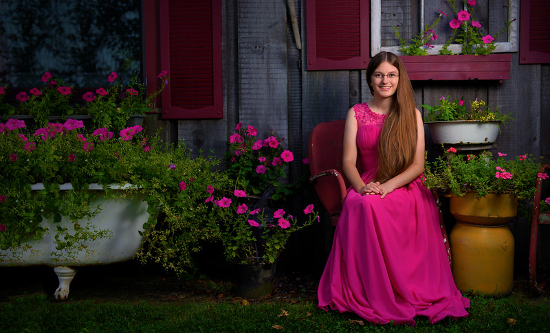 We can go on location to capture the right feel for your Senior Portraits.