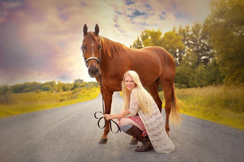 Senior Pictures with your favorite pet
