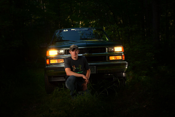 Your car or truck can be in your Senior Pictures