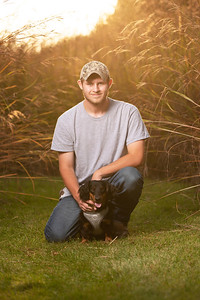 Senior Portraits with your Pet