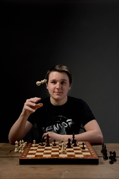 Chess Player's Portrait