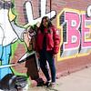 Alex at the Graffiti Wall