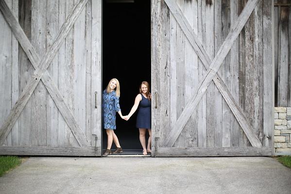 Clare & Jenna
