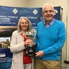 2016 Championship Pairs winners: Kath Nelson & Alan Nelson