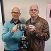 2017 Championship Pairs winners - Rob Lawy & Mike Huggins