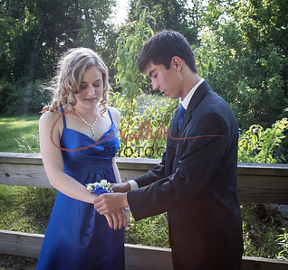 Prom: Kathy and Daniel