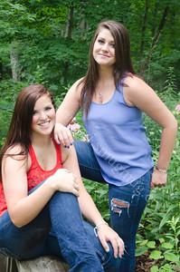 Best Friends Catie and _______ Senior Year