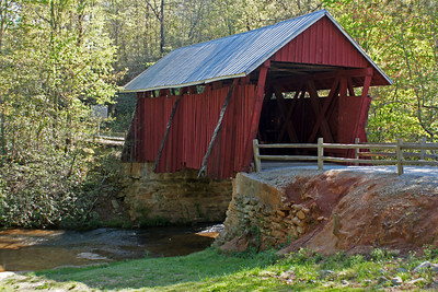 Campbell Covered Bridge SC (2) edited - Hazel Townsend