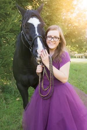Horse Senior Photo Shoot