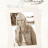 Jamie Schultz August Mini Book Cover - Macayla
