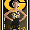 Garland cheer banner - All Star background 3