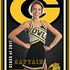 Garland cheer banner - All Star background 1
