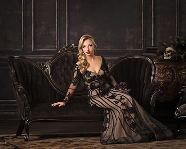 2017 senior models. Gothic beauty