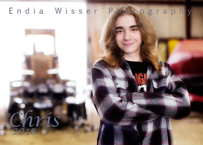 Chris from East Palestine with Endia Wisser Photography 2018