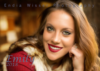 Emily from Columbiana with Endia Wisser Photography 2018