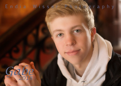 Gabe from East Palestine with Endia Wisser Photography 2018
