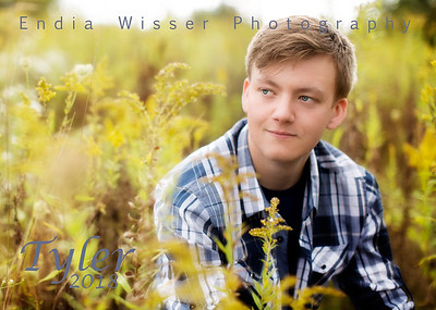 Tyler from Crestview with Endia Wisser Photography 2018