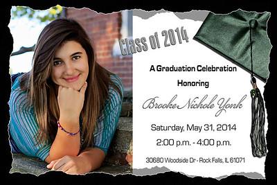 Brooke Invite 4x6