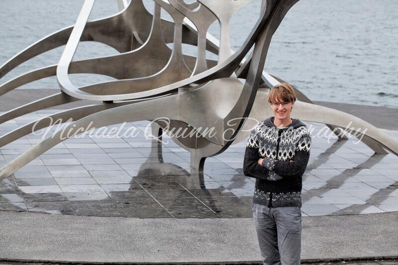 Evan Begg in Reykjavik, Iceland