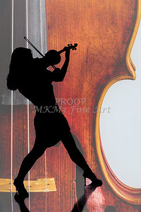 Silhouette Violin 1732.107