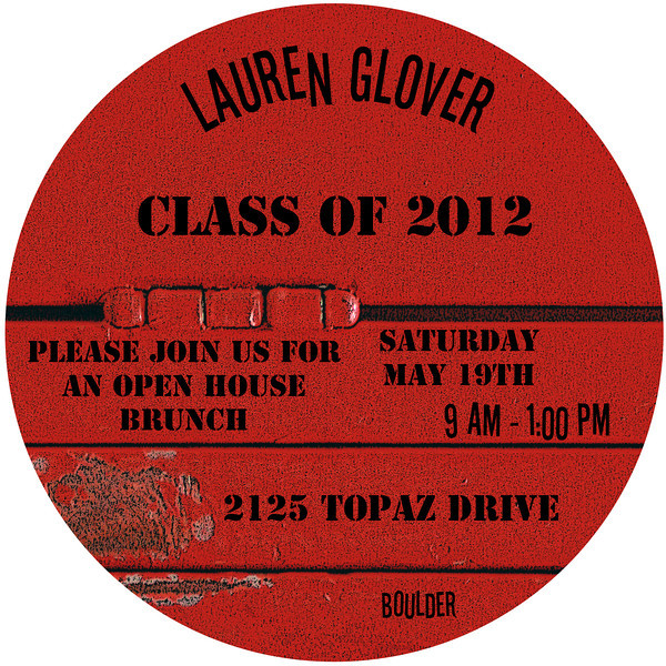 Lauren party card front
