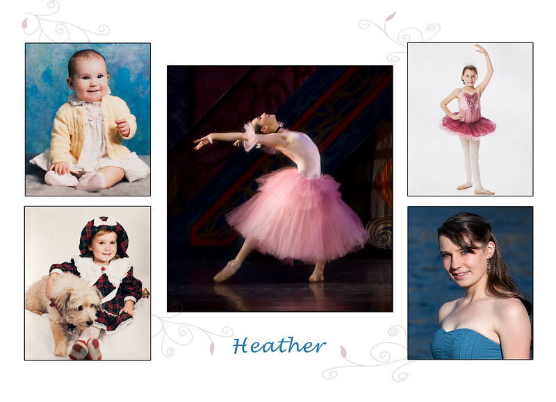 Heather card front
