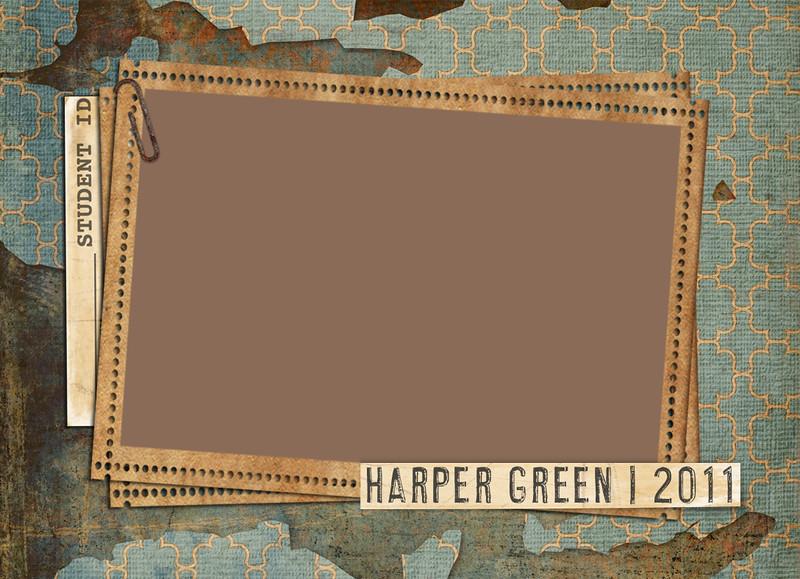 Harper card front