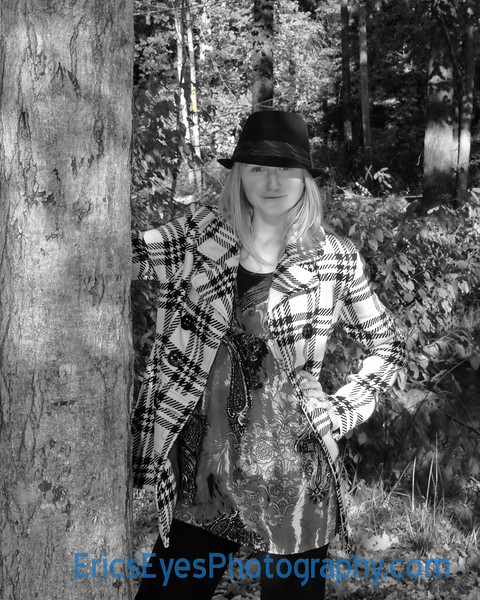 Hannah by Tree BW1