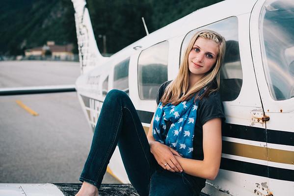Hannah - Skagway Senior {favs}