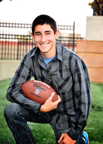 Justin Senior Portraits