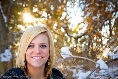 Senior Pictures Taken at the American Fork, Utah Amphitheater