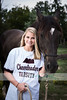 senior girl with horse 2