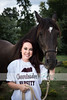 senior girl with horse 3