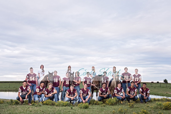 Madison Academy Seniors at Stables