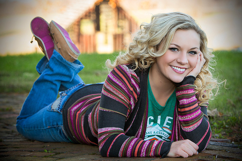 Madison Free - Clay senior 2014