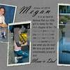 Megan Wrentz Yearbook Ad - half page