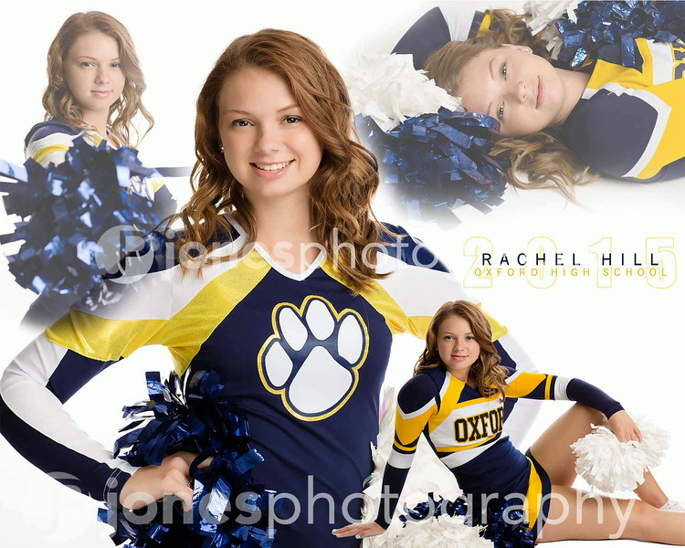 Cheer Collage Rachel