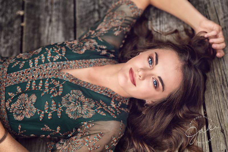 Caitlin Cowell - JGM Senior Model - Class of 2019