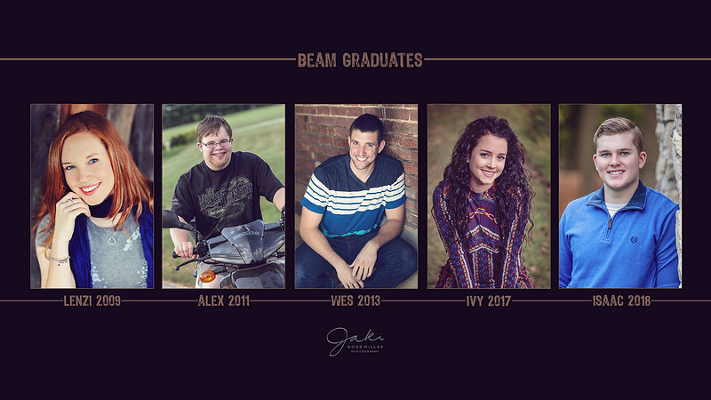 The Beam Team - Class of 2009, 2011, 2013, 2017, 2018