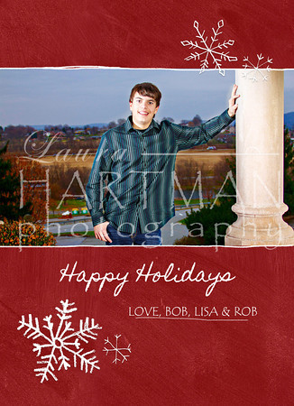 Christmas Card sample! The possibilities are endless, we can do anything! Create any type of card you'd like! _LH
