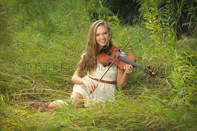 Play an instrument ? We have many areas outdoors for your Senior Portrait Session.