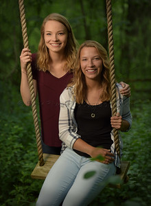 Twin Sister Senior Portraits