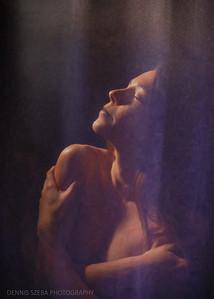 Shower in the light