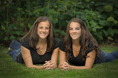 Twin Senior Portraits