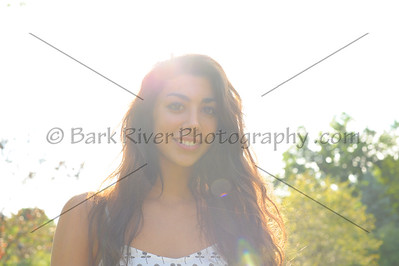 Sun Flare in the Senior Photo for this Kettle Moraine Senior.